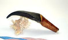 Goat horn pipe tamper by PipetampersbyRainer on Etsy