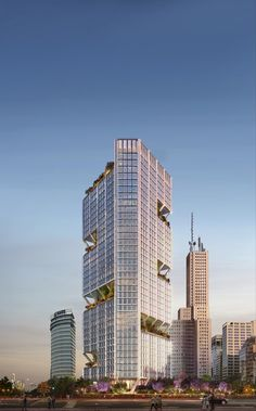 Foster + Partners Begins Construction on New Buenos Aires Office Tower | ArchDaily News Around The World, Around The Worlds, Foster Partners, Public Garden, Main Entrance, Contemporary Architecture, Willis Tower, The Fosters, Facade