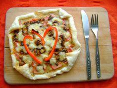 Pizza cebuLOVA na francuskim cieście