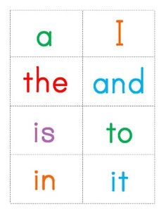 Sight Words Memory Game - Primer {FREE} | FREE Sight Word Activities ...