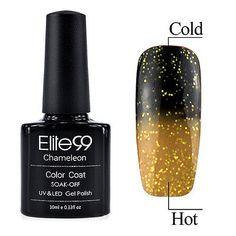 Hot Sale Lacquer Temperature Change Color Soak Off UV LED Nail Gel Polish 9045