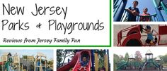 Jersey Family Fun's listing of parks & playgrounds in New Jersey and reviews of them organized by county.