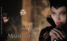 """#Actress #Angelina #Jolie said Tuesday she was #thrilled her latest film """"Maleficent"""", a modern #retelling of the life of #Sleeping #Beauty s arch-nemesis, had debuted at the top of the box office. """"Maleficent"""" raked in nearly $70 million in #North #America over the past weekend. The #movie not only #casts #Jolie in the title role as the #malevolent fairy but was also #produced by the #star."""