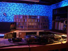 Dream chamber, home DJ studio