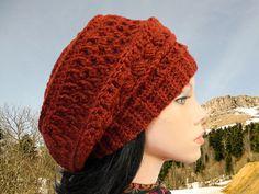 Slouchy beanie Crochet hat patterns Crochet beanie pattern Crochet hat Slouchy hat pattern Slouchy beanie crochet pattern Beret pattern