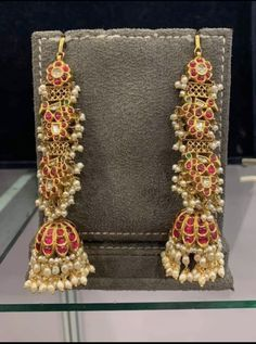 Nepali Jewellery Near Me under Nwj Jewellery Near Me, Jewellery Shops Paris Gold Jhumka Earrings, Jewelry Design Earrings, Gold Earrings Designs, Gold Jewellery Design, Ear Jewelry, Silver Jewelry, Silver Ring, Jhumka Designs, Dainty Jewelry