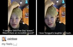I just love how much BAP's members care about each other. It really is like they say, brothers.