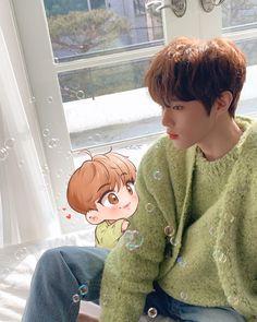 Im Youngmin, Web Drama, Flower Phone Wallpaper, Lucky Star, Fanart, Kpop Boy, K Idols, Cute Drawings, Boy Groups