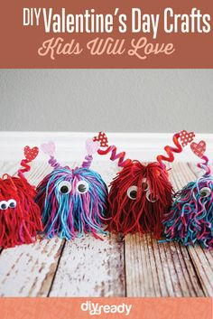 DIY Valentines Day Crafts for Kids