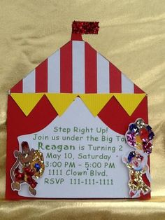 Hostess with the Mostess® - Circus Birthday Party