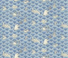 Tidal Wave! fabric by ceanirminger on Spoonflower - custom fabric