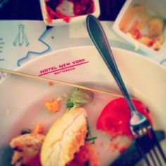 Dinner at Hotel New York Rotterdam. Photo: @_thru_the_lens_
