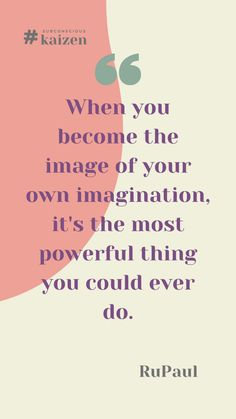One of the keys to stop self-sabotage is the use of our imagination to envision the life we want to. Do not underestimate the power of your mind and use it to stop self-sabotage kaizeners. Learn how to in our latest blog entry. Click on the pin. Buckle up and #subconsciouskaizen for all! Rupaul Quotes, Self Destruction, Getting Up Early, Kaizen, Do You Believe, Under Pressure, Subconscious Mind, Feeling Overwhelmed, Stressed Out