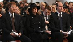 Families of victims of the Grenfell Tower fire have been joined by members of the Royal Family at a special memorial service at St Paul's Cathedral in London today. Kate And Harry, Prince Harry And Megan, Kate Middleton Prince William, Prince William And Catherine, Prince Henry, Duke And Duchess, Duchess Of Cambridge, Middleton Family, London Today