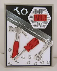 Nailed It For Father's Day by OnROwn - Cards and Paper Crafts at Splitcoaststampers