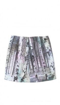 Enchanted Forest Mini Skirt