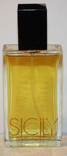 Dolce & Gabbana Sicily Perfum 3.4oz 100ml Eau De Parfum Spray Tester Discontinue #DolceGabbana