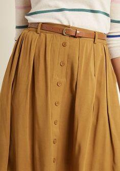 Best A-Line Rock of the bookstore - Kleidung für Frauen - Jupe Mode Outfits, Skirt Outfits, Dress Skirt, Fashion Outfits, Womens Fashion, Pleated Skirt, Midi Skirt, Skirt Fashion, Ladies Fashion
