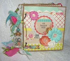 TPHH-Premade-Paperbag-Colorful-Oh-Happy-Day-Album-with-Prima