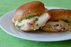 Turkey Pesto Sliders*** So good!