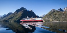 Experience one of the longest fjords in Norway when you visit Hjørundfjord