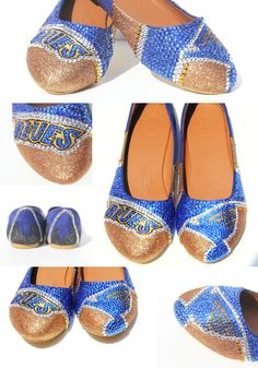 St. Louis Blues Flats Custom Made by Wicked Addiction
