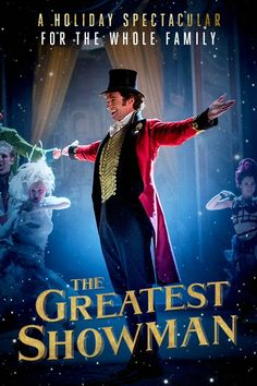 See Hugh Jackman in The Greatest Showman, in theaters December 20.
