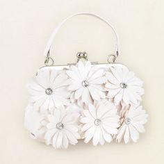 Girls Faux-Patent Flower Purse -...    $9.06