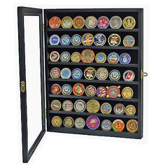 High quality wood #cabinet coin #badge casino chip medal display case #glass cove, View more on the LINK: http://www.zeppy.io/product/gb/2/361508593438/