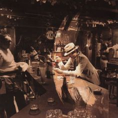 Led Zeppelin album cover by Hipgnosis & Storm Thorgerson (In Through the Out Door, 1979).