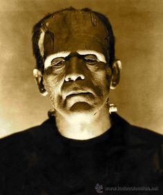 Frankenstein's Monster (from Frankenstein, 1931). Portrayed by Boris Karloff