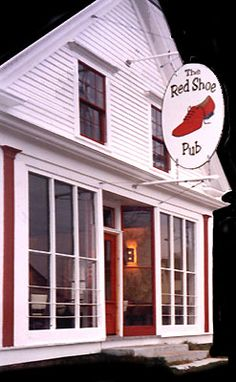 The Red Shoe Pub ...or...The Happiest Place on Earth.  Really good food, good friends and almost always at least one fiddler playing.