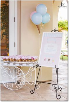 Pink and blue wedding escort cards | Event Planning, Styling & Design: Manna Sun Events | www.mannasunevents.com | Photo: Danny Dong Photography