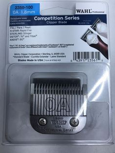 Wahl 2356-100 Competition Series Clipper Blade OA 1.8mm #Wahl