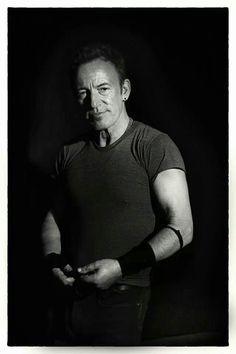 After show portrait Bruce Springsteen Melbourne, Australia photo by Jo Lopez