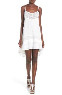 O'Neill 'Joy' Crochet Inset Cotton Dress