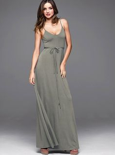 The Must-have Maxi Dress - Victoria's Secret, very simple and casual, but it's lovely