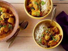 Chicken Tikka Masala Recipe by Bal Arneson : Food Network UK Food Network Uk, Food Network Recipes, Cooking Recipes, Cooking Ham, Cooking Pasta, Cooking Rice, Korma, Biryani, Chicken Tikka Masala