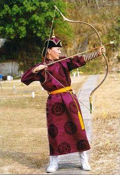 arqueros mongoles famosos por su destreza
