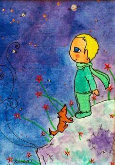 Ilustraciones de cuento, El Principito, #ilustracion #ilustracioninfantil #cuentos #pintadoamano #susoleto #principito