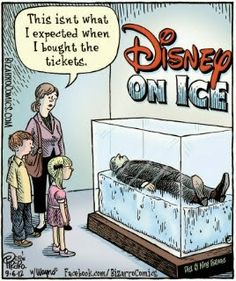 This isn't what I expected when I bought tickets to Disney On Ice...  Bit of Humor!