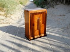 Antique Art Deco Apothecary Cabinet - Art Deco Standing Medicine Cabinet with…