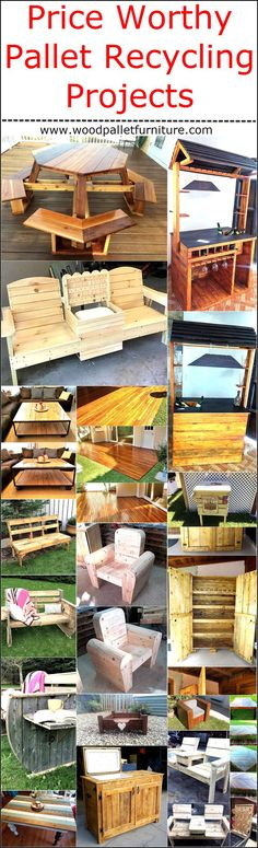 Not only the wooden pallets are great because they can be reshaped into unlimited ideas to decorate the home, but due to the reason that all the projects made up of wood pallets are price worthy and are inexpensive. In some cases, the wooden pallets are