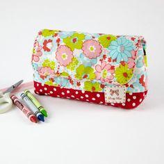 kostenlose Anleitung Stiftetasche Kosmetiktasche