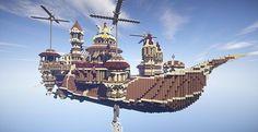 Theater Airship M.S. Prima Vista | Minecraft Building Inc