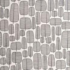 Papier peint - MissPrint - Little Trees - Noir et blanc. #papierpeint #wallpaper #wallcoverings #interiordesign #interiordesignideas #deco #décoration #decorationideas #decor