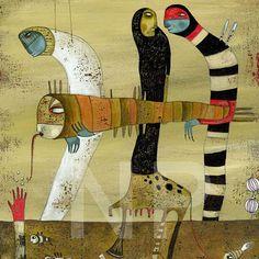 Art And Illustration, Art Corner, Art For Art Sake, Outsider Art, Whimsical Art, Mail Art, Art Sketchbook, Cute Art, Art Lessons