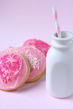 frosted sugar cookies by annieseats, via Flickr