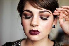Maquiagem da Semana: Dark Utopia Makeup Look