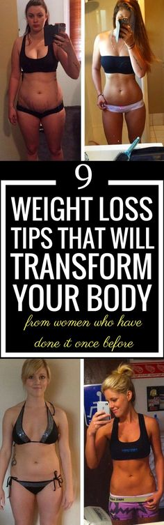 9 weight loss tips that will transform your body